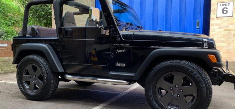 Jeep wrangler Restoration