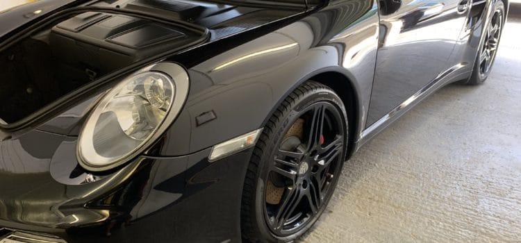 Porsche Turbo Ceramic Coated